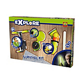 SES Creative Explore Survival Set, 4-teilig