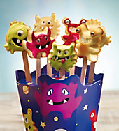 Silikonform (Design: Monster Pops)