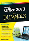 Microsoft Office 2013 für Dummies
